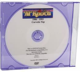 Corvette Convertible Top Installation DVD, 1986-1993