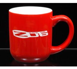 Corvette 16 Ounce Coffee Mug, Vegas, Red/White, 1953-2013