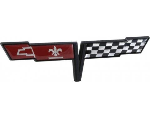 Corvette Gas Door Emblem, 1981