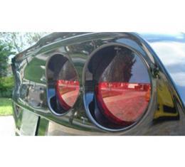 Corvette - Eyelid Blackout Kit, Acrylic, 2005-2013