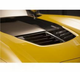 Corvette Hydro Carbon Fiber Z06 Style Hood Heat Extractor, 2015-2017