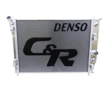 Corvette C&R Racing OE Fit Radiator, High Performance / Race Track, 48mm Denso, No Oil Cooler, 2005-2013