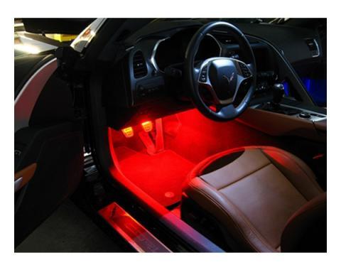 Corvette Footwell Bright LED Kit, 2014-2017
