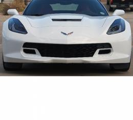 Corvette Z06 Front Grille, Two Tone Body Color, 2014-2017