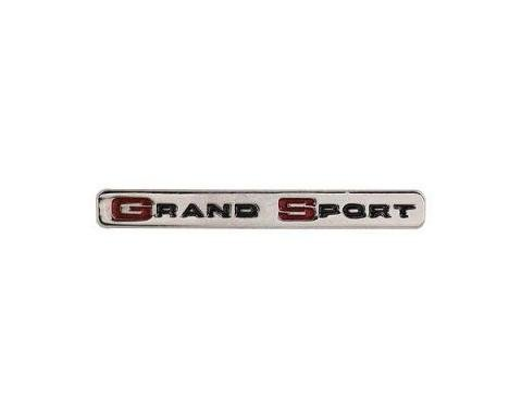 Corvette C4 Grand Sport Lapel Pin