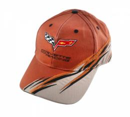 Corvette C6 Cap, Racing, Orange