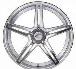 Corvette Wheel, Cray Brickyard, 19x9, Silver, 1984-2017