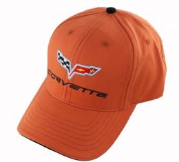 Corvette C6 Cap, Daytona Sunset Orange
