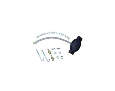 Corvette Brake Bleeder Adapter Kit, 1984-1991
