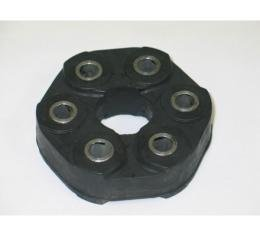 Corvette Torque Tube Bushing Coupler, Stock Rubber, 12mm Holes, 2001-2013