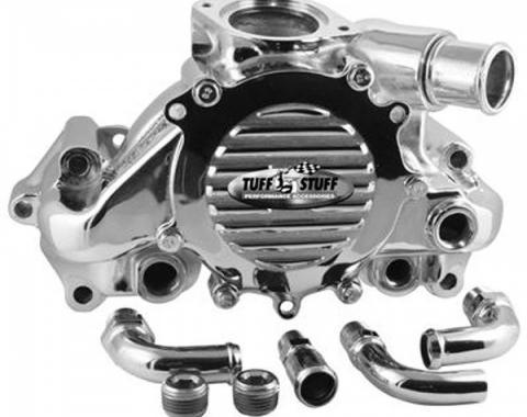 Corvette Water Pump, LT1, Chrome, 1992-1996