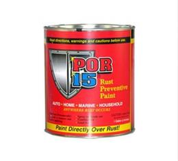 Rust Preventive Paint, Clear, POR-15, Quart