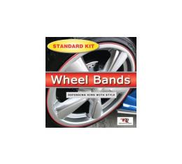 Wheel Bands,Black Kit With Insert