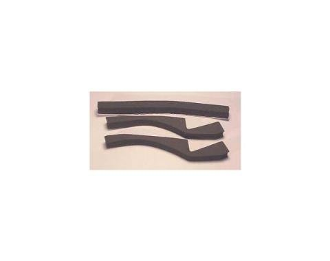 Corvette Radiator Support to Hood Seal Set, 1976-1978