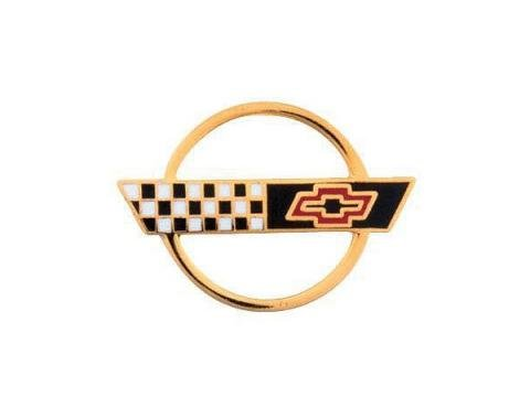 Corvette 1991-1996 C4 Gold Emblem Lapel Pin