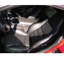 Corvette Seat Covers, Sport, Leather/Vinyl, 2005-2013