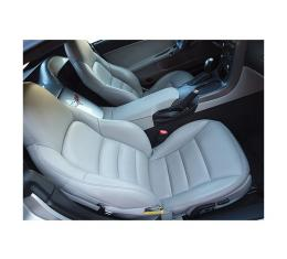 Corvette Seat Covers, Standard, 100% Leather, 2005-2011