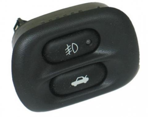 Corvette Fog Lamp Switch, w/Rear Compartment Release Switch, 1997-2004