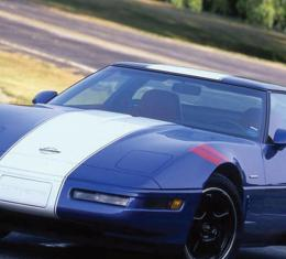 Corvette Windshield, Tinted & Shaded, Non-Date Coded, 1991-1996