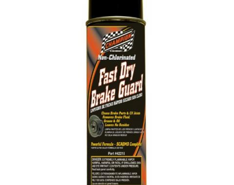 Champion Non-Chlorinated Brake Guard Cleaner