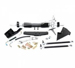 SpeedDirect 1963-1966 Corvette Steeroids Rack & Pinion Conversion Kit, Small Block, Power