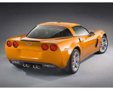 Corvette Body Upgrade Kit, Z06, Rear, Coupe, 2005-2013