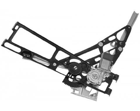 Corvette Window Regulator With Motor, Right, 1984-1996