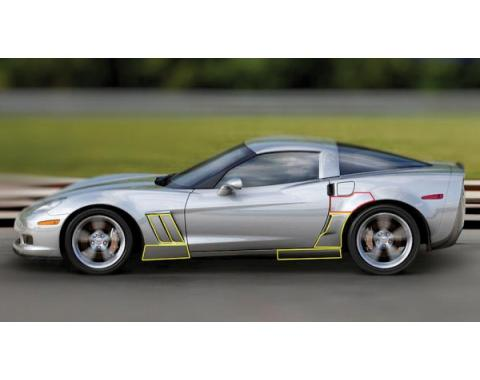 Corvette Cleartastic Body Protector Kit, Grand Sport, Z06, 2006-2013