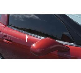 Corvette Outer Door Window Seal, Convertible, Right, 1998-2004