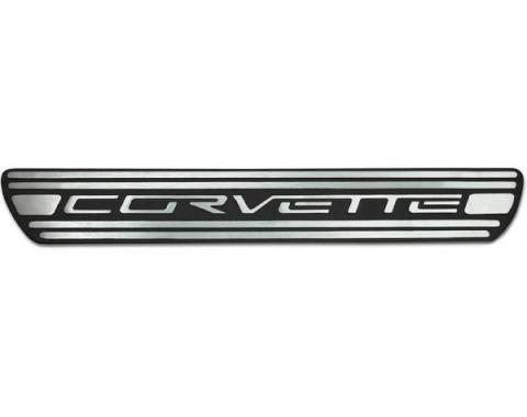 Corvette C6 Billet Two-Tone Door Sills