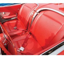 Corvette America 1961 Chevrolet Corvette Leather Seat Covers