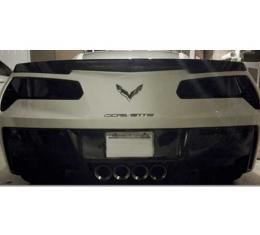 Corvette - Taillight Blackout Cover Kit, Full, Acrylic, 2014-2019