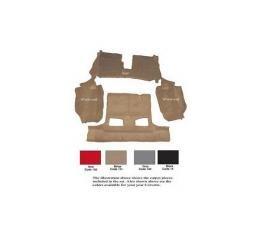 Auto Custom Carpet, Carpet Set, Mass Back, Rear, Tru-Vette| 32149 Corvette Convertible 1994-1996