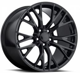 Corvette C7 Z06 Style Wheel, w/Cap, 19x10, +40, 2005-2013 | Gloss Black