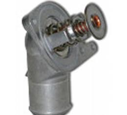 Corvette Thermostat, 160°, With Housing, SLP, 1997-2003