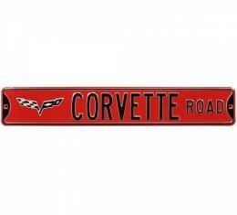 Corvette Road Street Sign