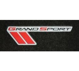 Lloyd Mats, Cargo Mat With Grand Sport Logo, Ebony| V0172118-819245 Corvette Convertible Only 2010-2013