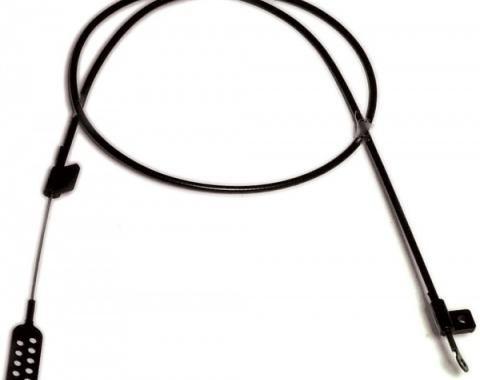 Corvette Hood Latch Cross Cable, on Body, 1978-1982