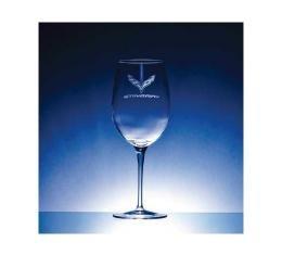 Corvette Crystal Crescendo Bordeaux 20 Ounce Glass Set Of Four by Luigi Bormioli for C7 Corvettes