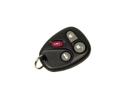 Corvette Remote Keyless Transmitter, #2, 2001-2004