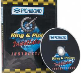 Corvette Ring & Pinion Gear Set Installation DVD, 1953-1996