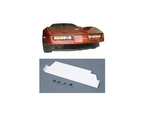 Corvette Performance Air Dam, Front, Lower, Black, Big Mouth, 1984-1989