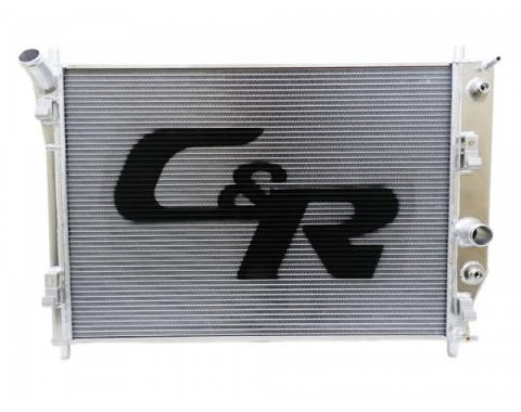 Corvette C&R Racing OE Fit 36mm Radiator, High Performance / Street, With Out Cooler, 2005-2013