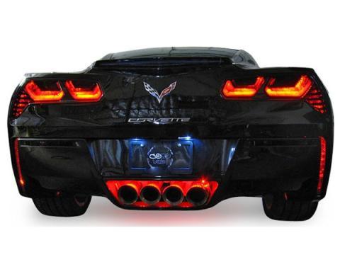 Corvette Rear Facia LED Kit, 2014-2017