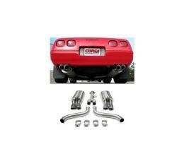 Corvette Exhaust System, CORSA, L98 Performance, 1986-1991