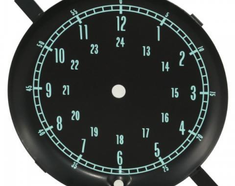Corvette Clock Face, 1965-1967