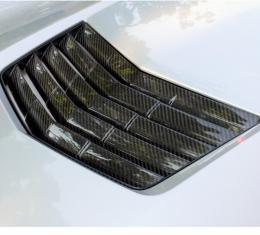 Corvette Stingray Concept7 Carbon Fiber Hood Vent Insert, 2014-2017