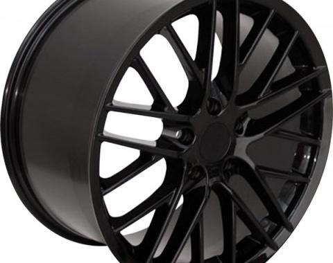 Corevtte 17 X 8.5 C6 ZR1 Reproduction Wheel, Black, 1988-2004