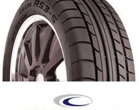 Corevtte Tire,Cooper Zeon,RS3-S,P275/40ZR17,1989-1996