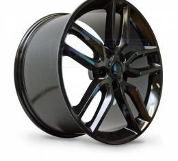Corvette Z51-Style, Wheel, Black Chrome Finish With Cap, 19X10, 5X4.75, 2014-2017